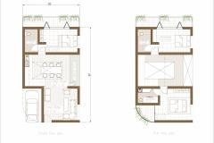 Petite Floor Plan